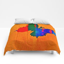 butterfly multicolor Comforters