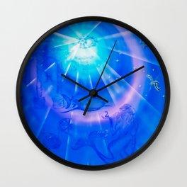 #Zodiac #sign #Pisces - #Happy #Birthday ! Wall Clock