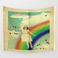 dorothy Wall Tapestries featuring Dorothy by Robin Curtiss