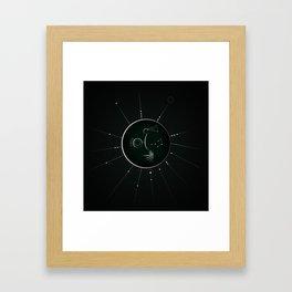 Soul - stellar code Framed Art Print