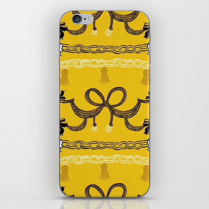Never break the chain iPhone Skin