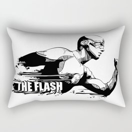 Fandom In Ink » The Flash Rectangular Pillow