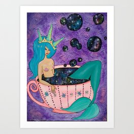 Cup of Cosmos Art Print