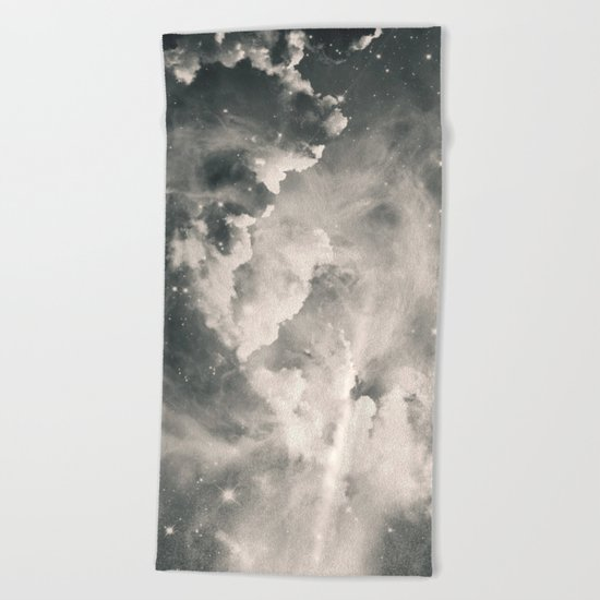 Find Me Among the Stars Beach Towel