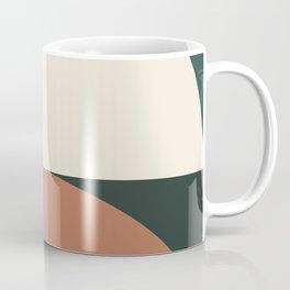 Abstract Geometric 01E Kaffeebecher