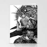 totem Stationery Cards featuring Totem by DIVIDUS