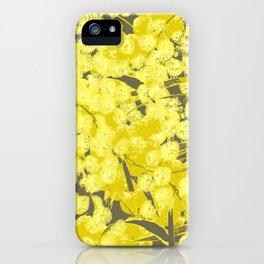 Acacia pycnantha (Golden Wattle) iPhone Case