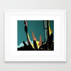 Ciclyin' Framed Art Print