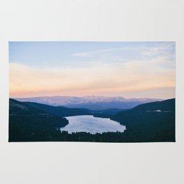 Donner Lake // California Rug