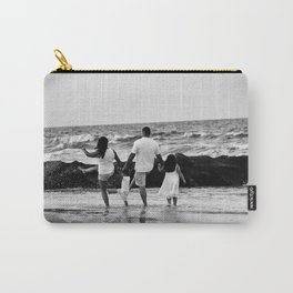 Kicking Waves Carry-All Pouch