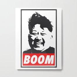 Boom (Kim Jong Un) Metal Print