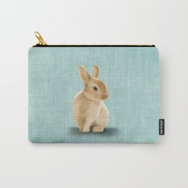Portrait of a little bunny Carry-All Pouch