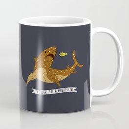 I wonder if it remembers me - The Life Aquatic Coffee Mug