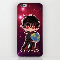 chibi iPhone & iPod Skins featuring Chibi Kamui by Neo Crystal Tokyo