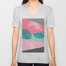 Palm Springs #society6 #decor #buyart Unisex V-Neck