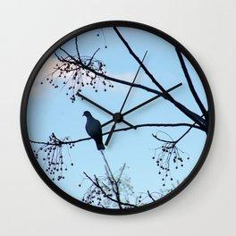 Sunrise Bird Wall Clock