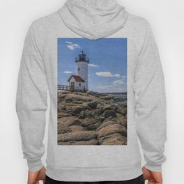 Annisquam Lighthouse afternoon Hoody