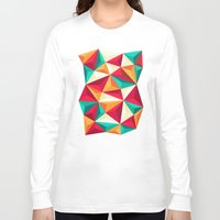 diamond Long Sleeve T-shirts featuring Diamond by Azarias