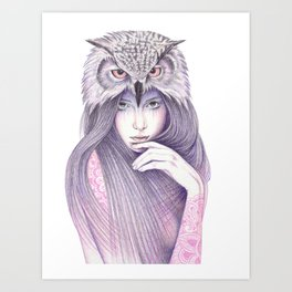The Wisdom Art Print