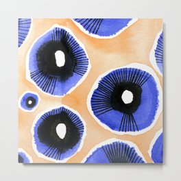 Poppy Eyed Metal Print