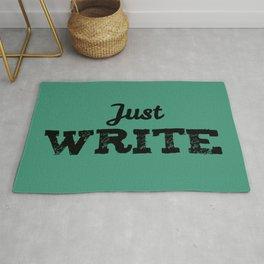 Just Write Rug