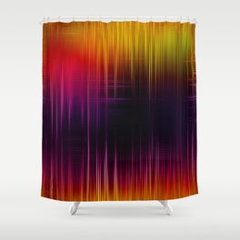 Lighted Spikes Shower Curtain