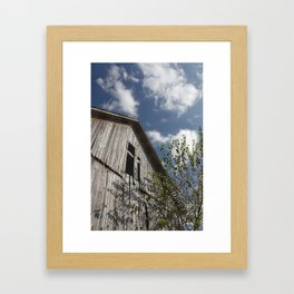 barn to be wild Framed Art Print