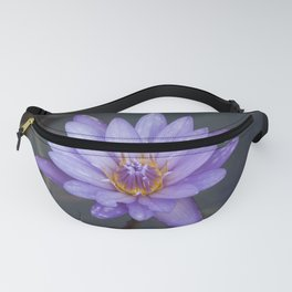 Water Lily purple Fanny Pack