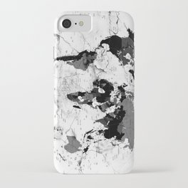 world map political marble iPhone Case
