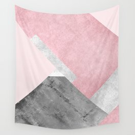 Modern Mountain No1-P1 Wall Tapestry