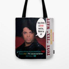 "The Tony 'Tex' Watt Jango Radio ""Plugged"" Album Poster Tote Bag"