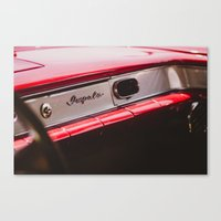 tame impala Canvas Prints featuring Impala by Grafiko