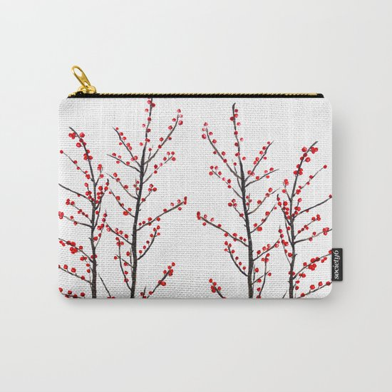 red beans branch Carry-All Pouch