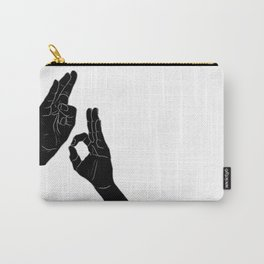 Mudra Hands Carry-All Pouch