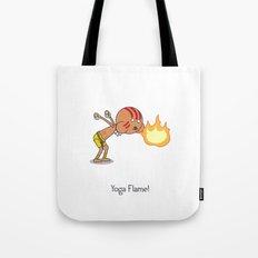 Yoga Flame! Tote Bag