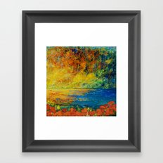 MEMORIES OF SUMMER Framed Art Print