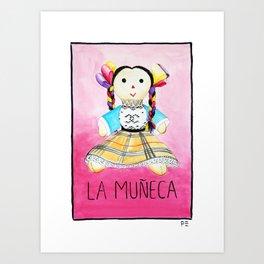 La Muñeca Art Print