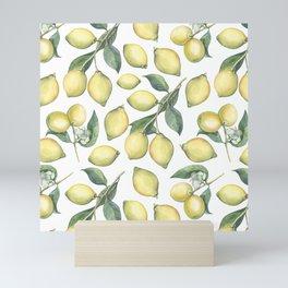 Lemon Fresh Mini Art Print