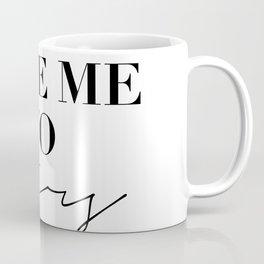take me to paris Coffee Mug