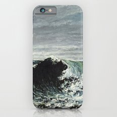Gustave Courbet - The Wave iPhone 6 Slim Case