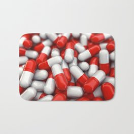 Pharmaceutical capsules Bath Mat