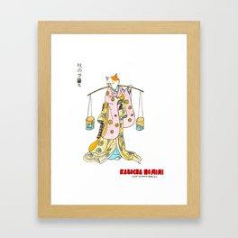 Kabocha No Mimi Framed Art Print