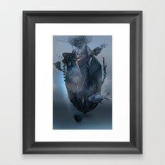 Warm stone Framed Art Print