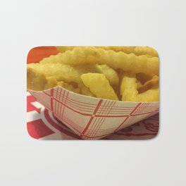 French Fries Bath Mat