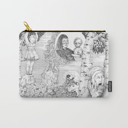 """untitled Xl """" Illustrations from a lost novel"""" Carry-All Pouch"""