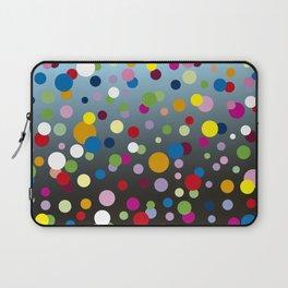 Multi-colored bubbles Laptop Sleeve