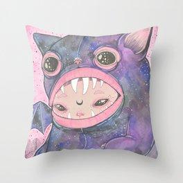 Boooh! Throw Pillow