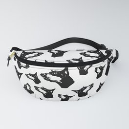 Doberman Pincher Dog Gifts Fanny Pack