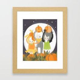 It's the Great Pumpkin Cake Framed Art Print