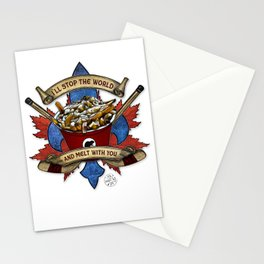 Canadian Salad Stationery Cards